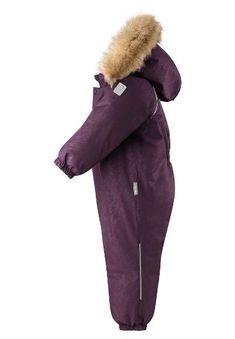 Reimatec down overall, Aapua Deep purple | Reima International Velcro Tape, Snow Suit, Deep Purple, Stretch Fabric, Canada Goose Jackets, Overalls, Winter Jackets, Fashion, Winter Coats