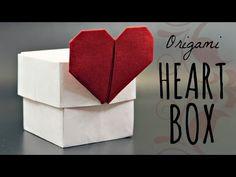 How to make an origami Heart Box (Tadashi Mori) - YouTube
