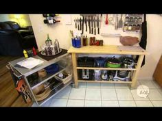 How to Create More Kitchen Space - YouTube