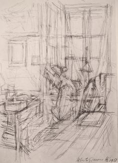 Giacometti, gesture drawing still life, organizational line drawing Gesture Drawing, Line Drawing, Drawing Sketches, Painting & Drawing, Drawing Tips, Sketching, Alberto Giacometti, Cartoon Drawings, Art Drawings