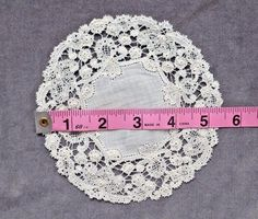 Rosaline Bobbin Lace Collar and Small Rosaline Perle Doily   eBay