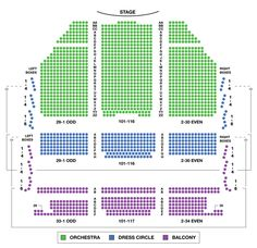 lyric theater nyc seating chart