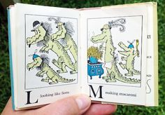 Alligators All Around   Maurice Sendak ~ Harper & Row, 1962