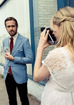 "Ryan Gosling and Michelle Williams - ""Blue Valentine"""