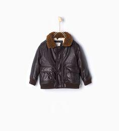 ZARA - KIDS - Aviator jacket