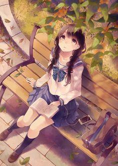 School Girl J Adore Cette Effet De Couleur Dessin Kawaii Manga Dessin Kawaii Dessin Manga