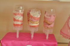 eva und ich: candy table rosa