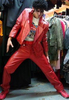 michael jackson costumes, thriller costume
