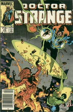 Doctor Strange Vol. 2 # 75 by Mike Mignola