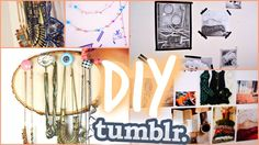 DIY Fall Room Decor: Tumblr Inspired Room!