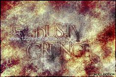 Dusty Grunge - Download  Photoshop brush http://www.123freebrushes.com/dusty-grunge-2/ , Published in #GrungeSplatter. More Free Grunge & Splatter Brushes, http://www.123freebrushes.com/free-brushes/grunge-splatter/ | #123freebrushes