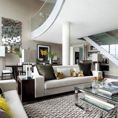 27 fotografías de decoración para interiores de casas modernas | mundo-casas.com