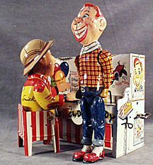 Vintage Howdy Doody Piano Tin Wind Up