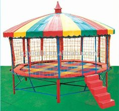 Top Hot Sale Newly Design Cheap Trampoline for Sale Recycled Trampoline, Large Trampoline, In Ground Trampoline, Backyard Trampoline, Trampoline Ideas, Backyard Toys, Backyard Patio, Backyard Ideas, Cheap Trampolines For Sale