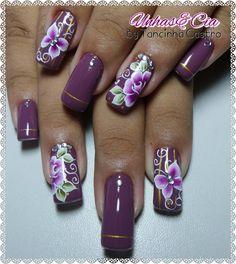 Nenhuma descrição de foto disponível. Nails & Co, Toe Nails, Nagel Gel, Manicure And Pedicure, Nails Design, Nail Art, Instagram Posts, Beauty, Wonder Woman