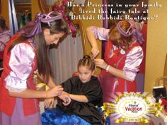 The Bibbidi Bobbidi Boutique is a fairy tale come true for many young ladies! If a princess in your family has been to the boutique, what did she think of the experience?