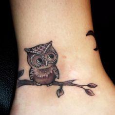 I LOVE THIS OWL TATTO!