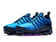 Chaussures de Basketball Nike Prix Pour Homme Nike Air VaporMax Plus Noir /  bleu 924453-