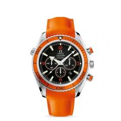 2918.50.83 : Omega Seamaster Planet Ocean 600M Co-Axial Chrono Orange / Orange