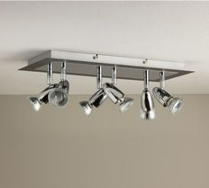 Buy Collection Magnum 6 Light Ceiling Plate - Slate Effect at Argos.co.uk - Your Online Shop for Ceiling and wall lights, Lighting, Home and garden.