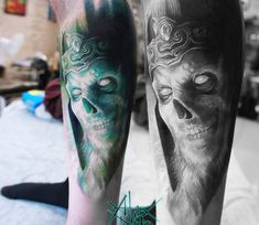 King of the Dead tattoo by Sanek Tattoo