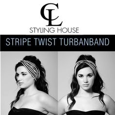 1960's inspired shoot with the gorgeous Lola CL NEW COLLECTION - STRIPE TWIST TURBAN BAND #CL #turbanband #headband #stripes #60's 1960s Inspired, Turbans, Cl, Headbands, Stripes, Stylish, Summer, Movies, Movie Posters