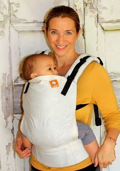 Oscha Joshua Roses (White Out) TULA BABY CARRIER