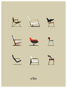 A design for every personality. Which chair fits you?   #HLYTRNTY #holytrinitylights #design