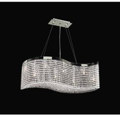 View the PLC Lighting PLC 66010 Crystal 8 Light Down Lighting Chandelier from the Clavius - I Collection at Build.com.