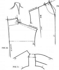 Techniques Couture, Sewing Techniques, Make Your Own Clothes, Diy Clothes, Pattern Cutting, Pattern Making, Sewing Tutorials, Sewing Hacks, Clothing Patterns