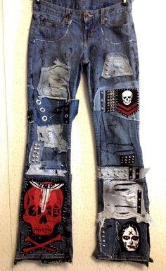 Blue Jean Destroyer by Chad Cherry by ChadCherryClothing on Etsy, $219.99