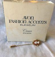 Vintage Avon Stick Pin Cameo 1978