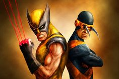 Wolverine and Cyclops switch powers