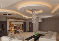 18 Best Tv Wall Units With Led Lighting That You Must See False Ceiling For Hall