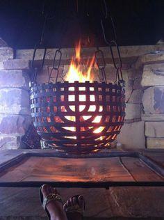 Garden Fire Pit, Fire Pit Backyard, Fire Pit Uses, Fire Pits, Fire Pit Stand, Fire Pit Gallery, Fire Basket, Fire Pit Materials, Wooden Walkways
