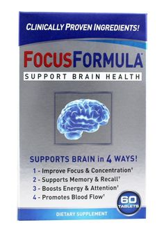 Windmill Health Products  FocusFormula Brain Health Support  60 Tablets