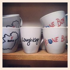 Hand Painted Moone Boy Mugs Kitchenware, Tableware, Silly Things, Craft Shop, Pop Culture, Hand Painted, China, Traditional, Mugs
