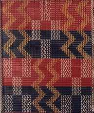 'Repetition refers to one object or shape repeated; pattern is a combination of elements or shapes repeated in a recurring and regular arrangement; rhythm--is a combination of elements repeated, but with variations. Weaving Patterns, Textile Patterns, Maori Patterns, Geometric Patterns, Maori Designs, Nz Art, Pattern And Decoration, Maori Art, Kiwiana