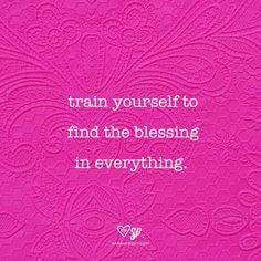 Bless everything in your life, and as you do you will have ignited the law of attraction into powerful action for all good to come to you. Learn the power of blessings with The Secret App: http://apple.co/1Ocxc3w
