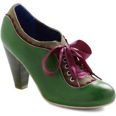 The Estate of Things Heel in Green by Poetic License - Green, Purple, Brown… Pretty Shoes, Cute Shoes, Me Too Shoes, Green Shoes, Green Wedding Shoes, Green Pumps, Purple Shoes, Shoe Boots, Shoes Heels