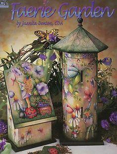 Faerie Garden Tole Painting Pattern Book Viking Folk Art Juanita Denton TP129 | eBay