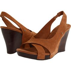 Ugg Hazel II Wedge Sandals in Baked Clay--great spring sandal