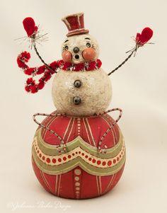 Transpac Christmas Santa Snowman Reindeer Shelf Sitters Johanna Parker Light Up Figurines