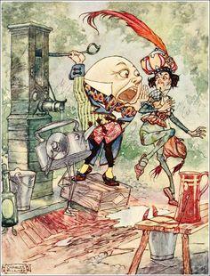 Charles Folkard - Humpty Dumpty
