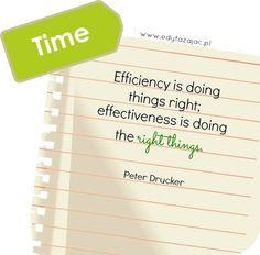 CZAS | Efektywność czy skuteczność? | 4 nawyki, które wyrobiłabym sobie, gdybym chciała lepiej zarządzać czasem