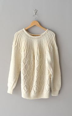 Honeycomb sweater | vintage sweater