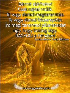 Angyali üzenet: Ragyogj a Fényben!