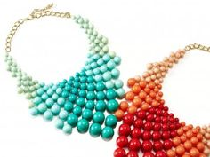 bubble necklace - Google Search