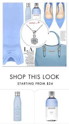 """""""Baby Blue"""" by lucky-1990 ❤ liked on Polyvore featuring Drybar, Lord & Berry and Paul Andrew"""