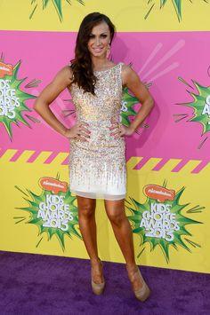 Karina Smirnoff at the Kids' Choice Awards 2013